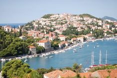 Lapad peninsula in Dubrovnik where boutique hotel Kazbek is situated