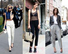 15 inspirações para você dar uma folga à calça jeans - Moda it