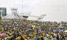 Brasília, Brasil - 15Mar2015 - brazilian anti-corruption movement