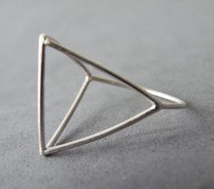 Hey, I found this really awesome Etsy listing at https://www.etsy.com/listing/203122441/architectural-ring-sterling-silver