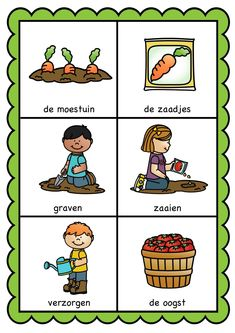 Crafts For Kids, Education, Comics, Children, Farming, Dutch, Plants, Yoga For Kids, Everything