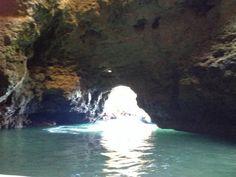 ponta da piedade. In one of the Grottos.