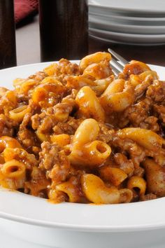 Poverty Meal #Recipe -  Macaroni, Ground Beef and Tomatoes - The whole family will love this!