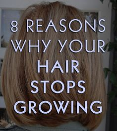 Interesting read for anyone who want to grow their hair longer. One reason is changing your old habits.