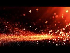 Easy Worship Background - Reddish Gold Particles