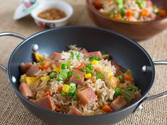 Chilhood Recipes : Luncheon Meat Fried Rice