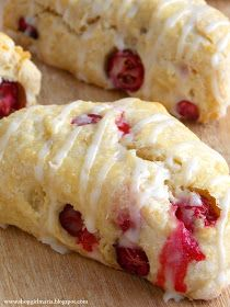 Shopgirl: Fresh Cranberry Mini Scones