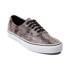 vans era snake skate shoe snake/black/khaki style #: 498434 54.99