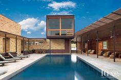A Modern Limestone Austin Retreat