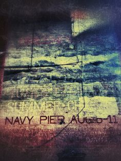 Navy Pier Chicago Graffiti Fine Art Photographic Print on Metallic Paper by lilacpopphotography on Etsy