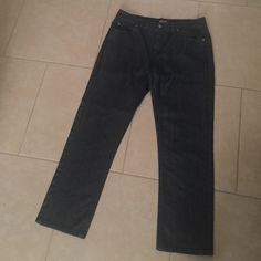 Men's Micheal Kors Dark Denim Jeans Worn once. Practically brand new. No rips, stains or imperfections. Michael Kors Jeans