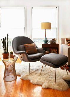 HOME & GARDEN: 35 idées pour mettre un fauteuil dans sa déco