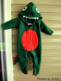 Dinosaur Onesie | 29 Easy And Adorable Things To Make For Babies