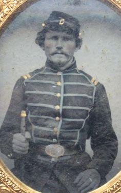 Original Civil War Tintype of Federal Musician Holding Fife RARE | eBay
