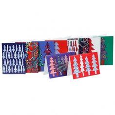 Kuusikossa joulukortit, 10 kpl