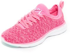 Pink APL: Athletic Propulsion Labs TechLoom Phantom Sneakers $165 At Shopbop Raised stitch patterns heathered Propelium midsole lace up pull tab textured rubber sole https://api.shopstyle.com/action/apiVisitRetailer?id=611115307&pid=uid841-37799971-81
