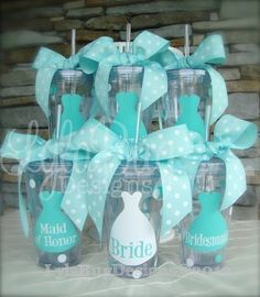 Stickers On Reusable Cups Could Be Great For Bridesmaids And Wedding Party