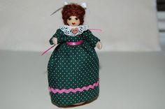 Clothespin Doll by MossBlossoms on Etsy