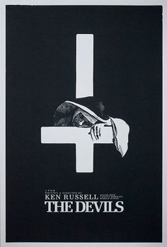 The Devils - Silkscreen Film Poster