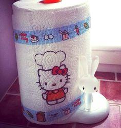 Hello Kitty kitchen paper