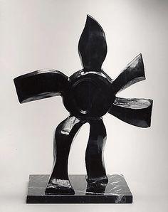 Fernand Léger - Walking Flower, ca. 1957-59, Bronze