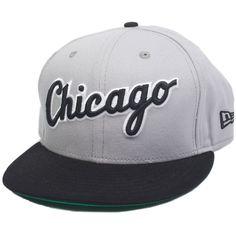 New Era Reverse Word Snapback Chicago Whitesox ($65) found on Polyvore