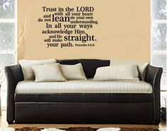 Our wedding text. Would LOVE this in our new house! Bible Verse wall sticker