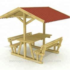 Gazebo And Shelter - Buy Gazebo,Outdoor W Picnic Table Plans, Outdoor Picnic Tables, Fence Gate Design, Garden Furniture Design, Wooden Gazebo, Hot Tub Backyard, Backyard Buildings, Kiosk Design, Decorating Rooms