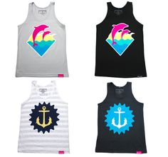 Pink Dolphin Tanks luv this brand for mens