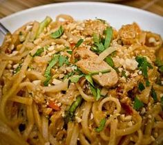 This is a great recipe - I just leave out the brown sugar (diabetic) - ORIGINAL PINNER:  CHICKEN PAD THAI.  This is a great recipe for Chicken Pad Thai.