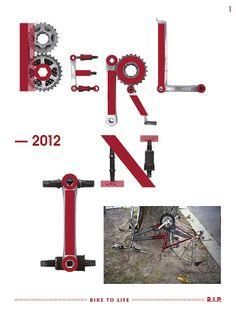 Bike To Life Berlin. Designer: .toormix.com Barcelona, Spain via .feeldesain.com/bike-to-life-toormix