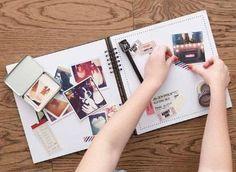 Surpreenda a sua cara metade com um scrapbook com os vossos melhores momentos juntos :) #diy #scrapbook #namorado