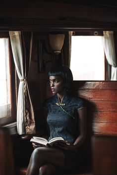 "billionstars: ""[ Ramona Fouziah Nanyombi in dark academia ] "" Black Girl Magic, Black Girls, Babe, Black Models, Female Models, Women Models, Beautiful Black Women, Beautiful People, Black People"