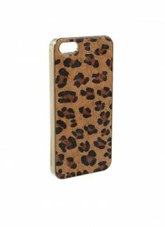 Call Me Maybe Leopard Print iPhone Case Brown