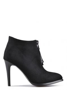 c93147053cc Dámské elegantní boty na vysokém podpatku TENDENZ - černá