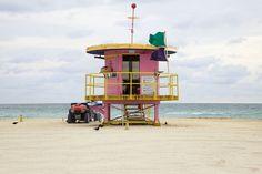 Miami Houses by Leo Caillard, via Behance