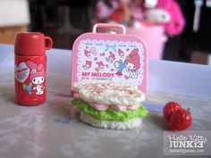 Sanrio Re-ment My Melody Cafe