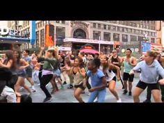 We did this Flash mob performance on in Times Square in New York City, and for the first time it was for a birthday. Happy Dance Video, Happy Song, Queen Latifah Show, Youtube Songs, Pharrell Williams, Dance Videos, New York City, Nyc, Music