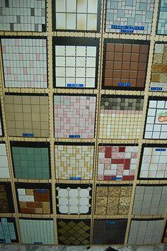 World of Tile: 1955-2014, relocating in 2014 - Vintage tile patterns I