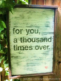 Rustic Decor - Reclaimed Wood - Rustic Wooden Sign -