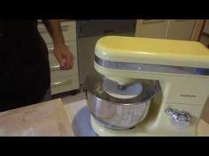 Corso di Pasticceria - Come fare la Pasta Sfoglia - Lezione 2 - YouTube Kitchen Aid Mixer, Kitchen Appliances, Diy Kitchen Appliances, Home Appliances, Domestic Appliances