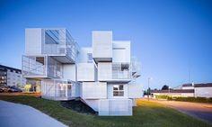 WHITE CLOUDS , Saintes, 2016 - MORE architecture