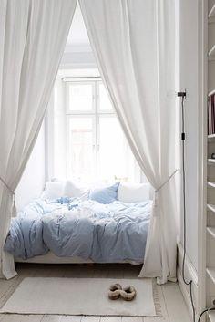 캐노피를 활용한 침실 인테리어 모음 | 인스티즈
