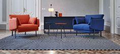 Structure - Poltrona con braccioli e piedini in vista - Bonaldo Classic Sofa, Dove Grey, Lounge Furniture, Sofas, Armchair, Upholstery, Couch, Bonaldo, Bleu Orange