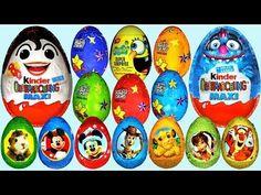 ▶ 50 Surprise eggs Kinder Surprise Cars Donald Duck Mickey M Minion Surprise, Disney Surprise, Cute Doodle Art, Cute Doodles, Peppa Pig, Pj Mask Decorations, Baby Doll Makeup, Play Doh For Kids, Kids Fun