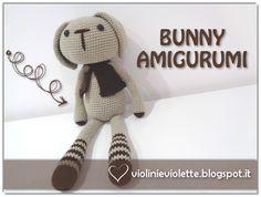crochet tutorial for bunny ♥