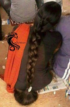 Beautiful Braids, Beautiful Long Hair, Indian Hairstyles, Braided Hairstyles, Indian Women Painting, Indian Long Hair Braid, Super Long Hair, Braids For Long Hair, Thick Hair