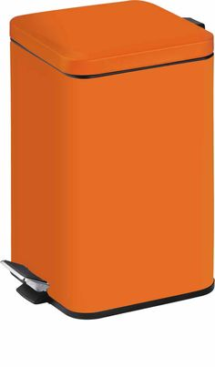 Rectangular Step Can, Stainless Steel, ( 5L, Orange ) - China Trash Can, Pedal Bin | Made-in-China.com Mobile