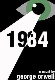 Book cover design for 1984 by Chris Woods.
