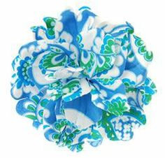 Check out the L. Erickson USA Paradise Flower Barrette - Gypsy Floral - Originally $56, Sale $25.90! at France Luxe  melon color on the end